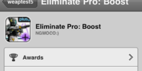 Eliminate Pro: Boost