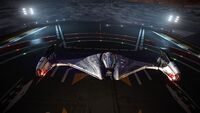 Imperial Fighter landed
