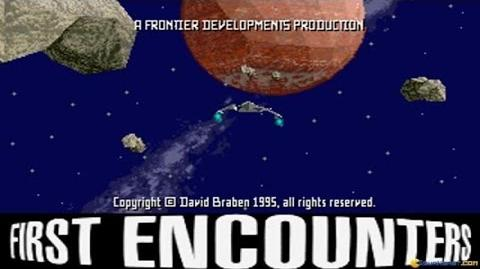 Frontier - First Encounters gameplay (PC Game, 1995)