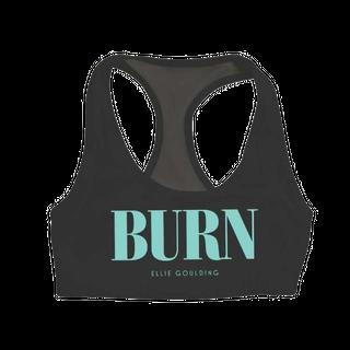 Burn Mesh Sports Bra: £30.00