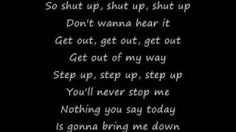 Simple Plan Shut Up (lyrics)