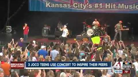 Emblem3 Surprises Team Inspire Girls During KC News Interview