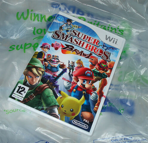 File:My copy of Super smash bros. Brawl.jpg