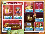 Fresco's Diner Express Decoration Catalog