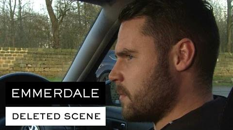 Emmerdale Deleted Scene - Robert is there for Aaron