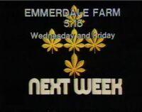 Emmerdale advert 1977