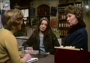Emmie annie in shop 1975
