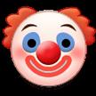 Clown Emoji - Samsung