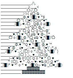 File:Christmas Tree Punctuation Art Emoticon Wiki.PNG