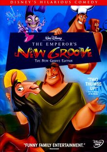 The Emperor's New Groove - The New Groove Edition - front cover