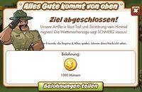 Alles Gute kommt von oben Belohnung (German Reward text)
