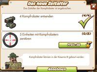 Das neue Zeitalter (German Mission text)