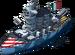 Caio Duilio Battleship
