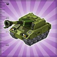 E&A-NLOS Artillery