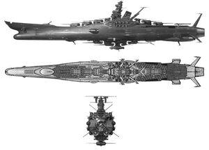 Battleship greatyamato