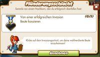 Plünderungsschlacht (German Mission text)
