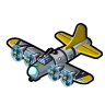 Goal Flying fortress Bomber
