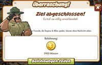 Überraschung! Belohnung (German Reward text)