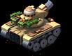 Patton Tank Back