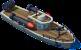 Torpedo Gunboat Front