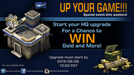Mobile event upyourgame