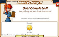 Beau LeChomp II Reward