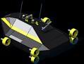 SpecOps UUAV Drone Gunboat Back View