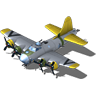 Flying Fortress Bomber