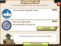 Torpedos los! (German Mission text)