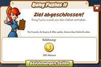 Kung Fuzius II Belohnung (German Reward text)