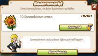 Bauernmarkt (German Mission text)