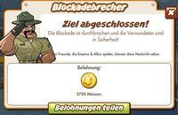 Blockadebrecher Belohnung (German Reward text)