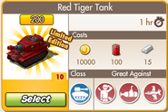 Red Tiger Purchase