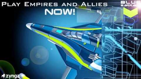 Premiering all NEW - Blue Barrage Units!
