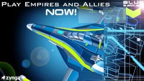Premiering all NEW - Blue Barrage Units!