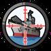 Goal target navy