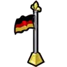 Goal German Flag