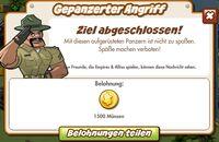 Gepanzerter Angriff Belohnung (German Reward text)