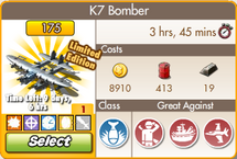Upgraded K7 Bomber