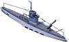 Submarine Gunboat Back