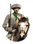 Cossack Ataman Cavalry Icon