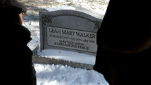 Leah Walker's Tombstone