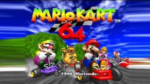 Let's Play Mario Kart 64 (Project 64)