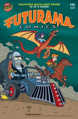 Futurama-55-Cover