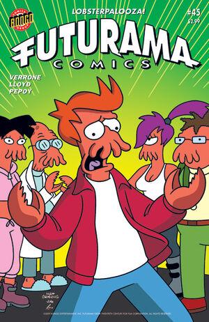 Futurama-45-Cover