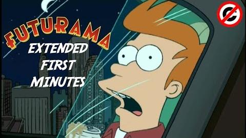 Futurama - SPACE PILOT 3000 (EXTENDED FIRST MINUTES) FAN-EDIT