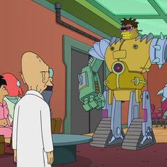 Hermes as a robot.