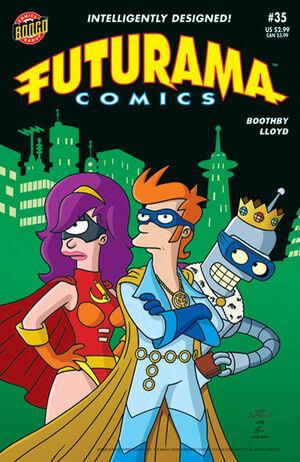 Futurama-35-Cover