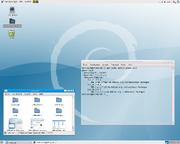 Gnome screenshot - version 2.22 (debian sid)