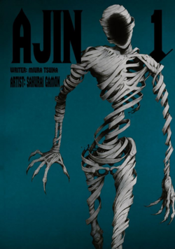Ajin Volume 1 Cover